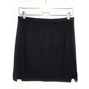 J.CREW size 2 Black Business Casual Skirt